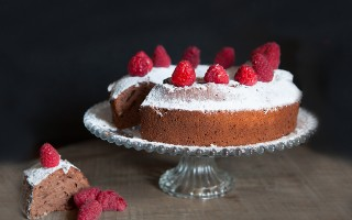 Angel cake al cioccolato, soffice