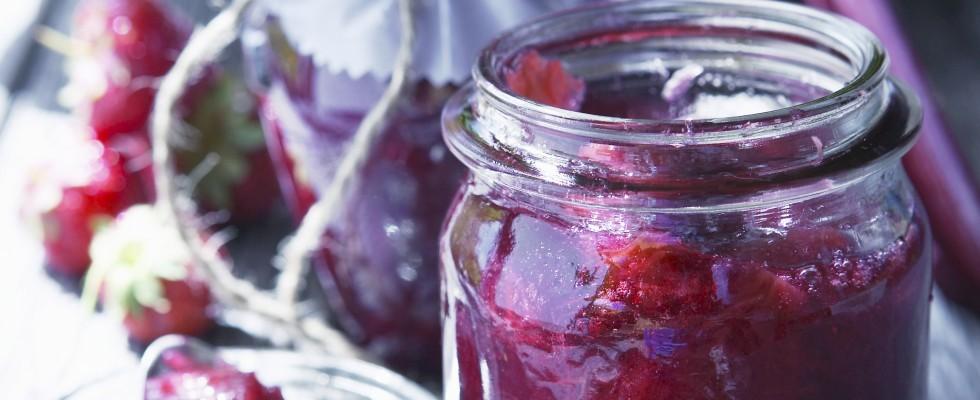 Marmellata di rabarbaro, antiossidante