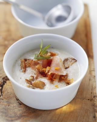 Zuppa di castagne, nutriente