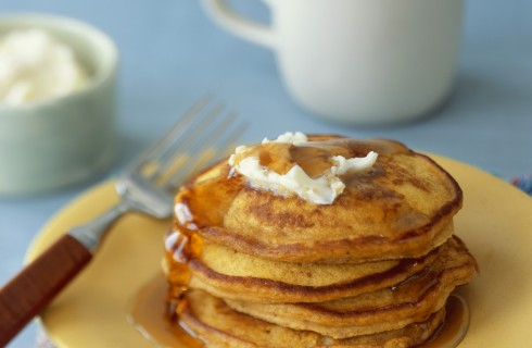 Pumpkin pancakes, alla zucca