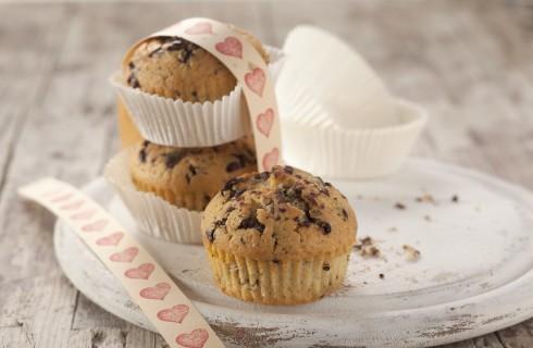 Muffin alla stracciatella, soffici