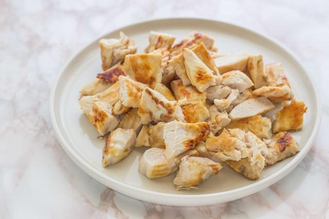 Step 3 Insalata di pollo alla greca con tzatziki