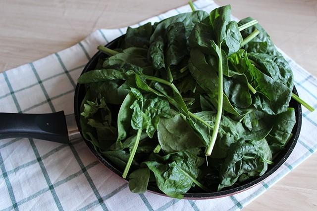 Torta salata pomodorini e spinaci FOTO1
