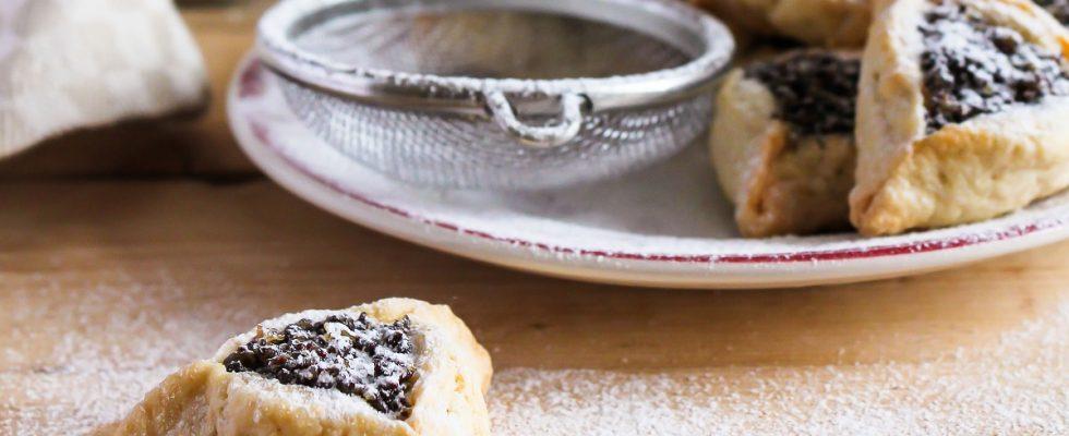 I biscotti con fichi e uvetta per la colazione