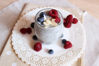 Chia Pudding: merenda vegana