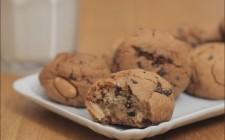 cookies con burro di  arachidi  (1)
