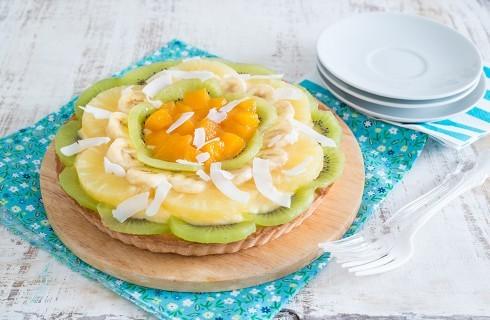 Crostata di frutta esotica: freschissima
