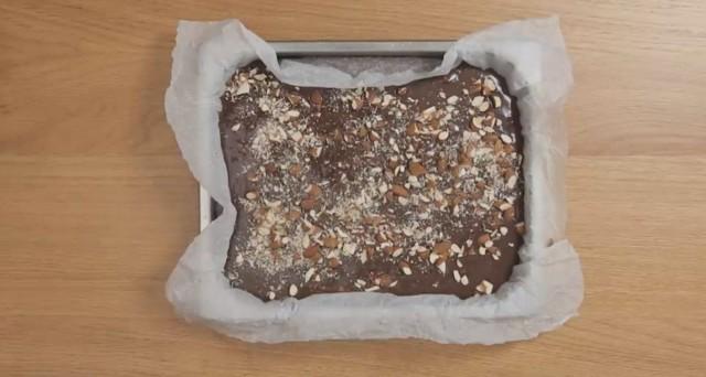 fudge cioccolato e mandorle 5