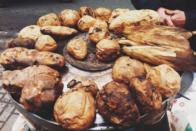 patate dolci arrostite
