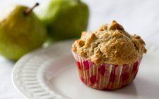 I muffin alle pere e zenzero ideali con il te: ecco la ricetta