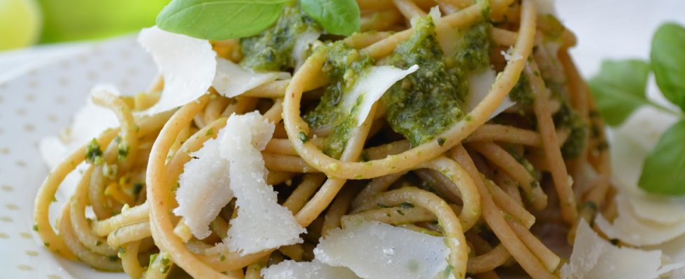 Le ricette vegetariane con la pasta integrale
