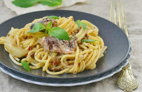 La pasta con sarde e finocchietto con la ricetta semplice