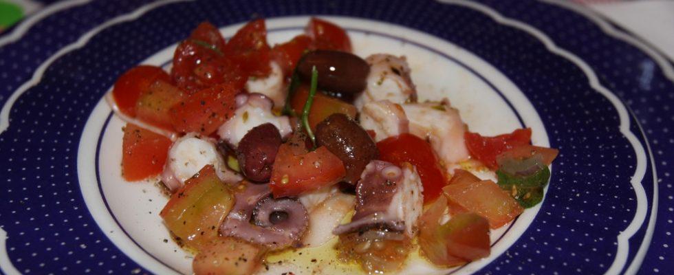 L'insalata di piovra alla catalana con la ricetta facile