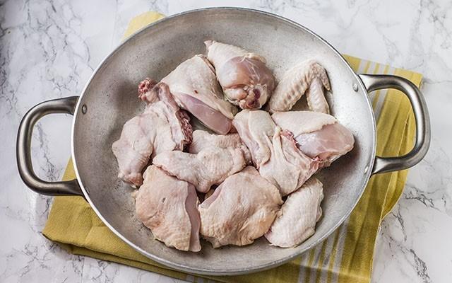 pollo alla cacciatora in bianco step2
