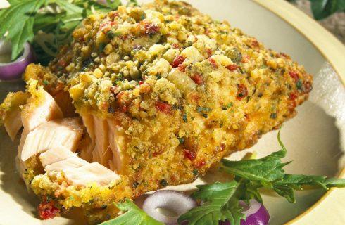 Il salmone al forno croccante e sfizioso, ecco la ricetta