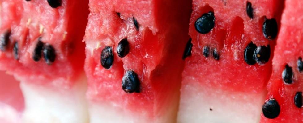 Non buttarlo: riutilizzare i semi di anguria
