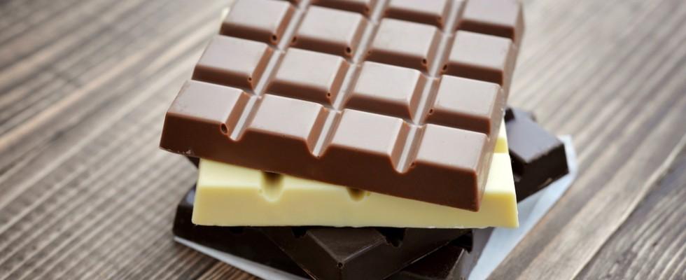 Fondente, al latte, bianco: tipi di cioccolato
