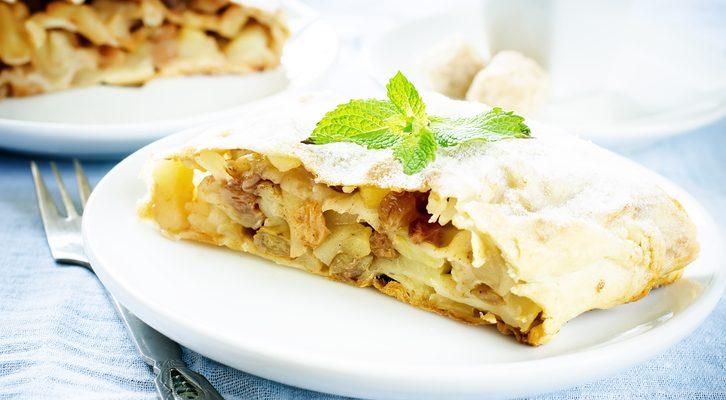 Lo strudel di mele con pasta fillo: ecco la ricetta autunnale