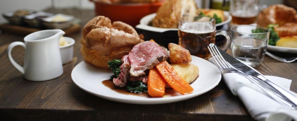 Una domenica all'inglese: il sunday roast