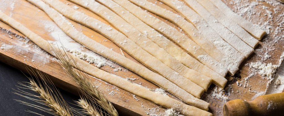Le tagliatelle al kamut fatte in casa con la ricetta facile