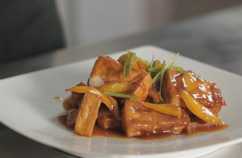 Tofu in agrodolce, cucina cinese