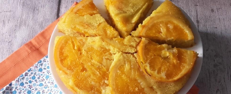 Torta rovesciata all'arancia, per i primi freddi