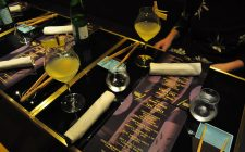 Yugo sake dinner con Anthony Genovese