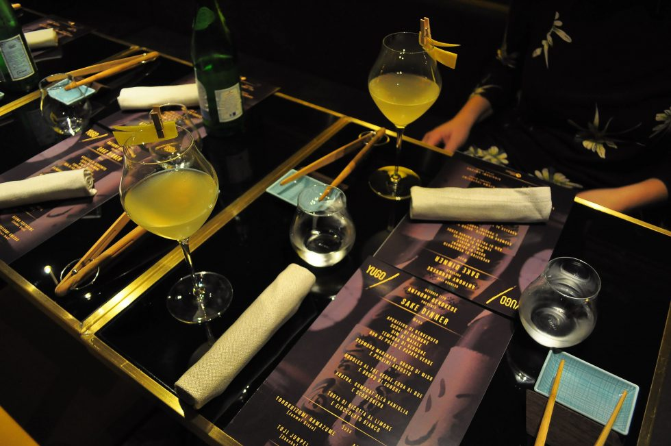 Yugo sake dinner con Anthony Genovese - Foto 2