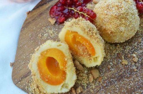 I canederli dolci alle albicocche con la ricetta facile