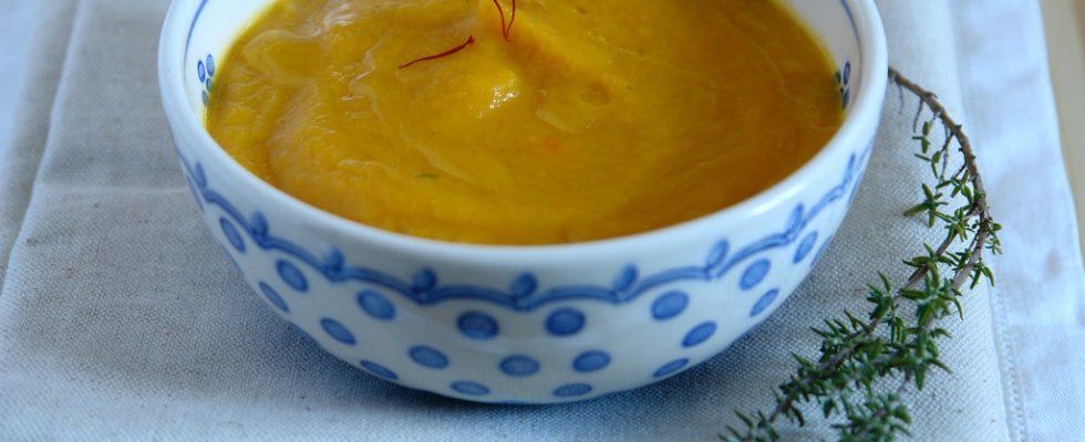 La crema di topinambur e tartufo con la ricetta semplice