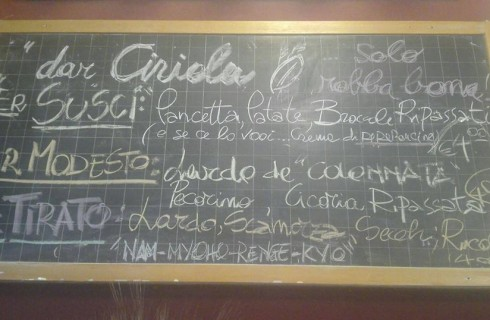 Dar Ciriola, Roma