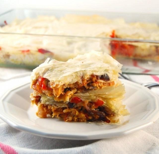 fillo lasagna