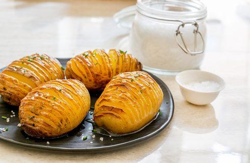 Hasselback Potatoes: dalla Svezia