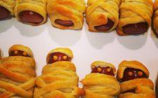 Mummie di Halloween, la ricetta con wurstel e pasta sfoglia