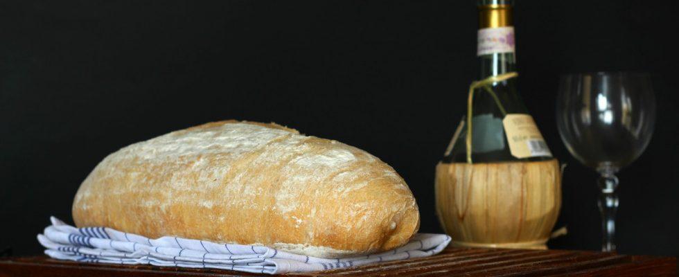 Pane tipo toscano: il pane sciapo