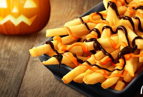 pumpkin spice fries