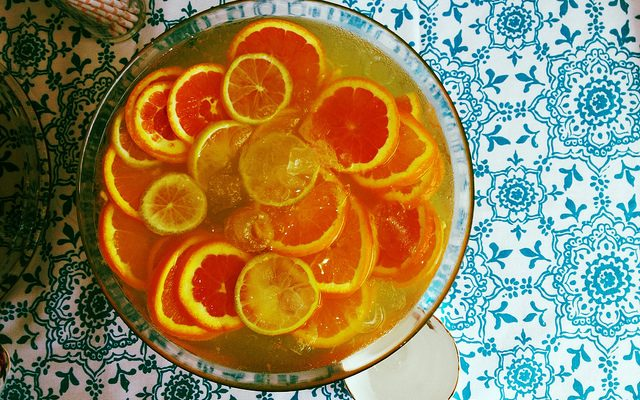 Il punch al mandarino: la ricetta e come si serve
