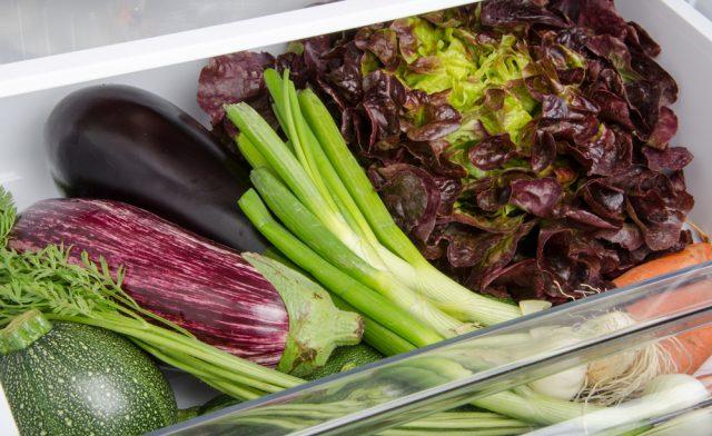 verdure in frigo