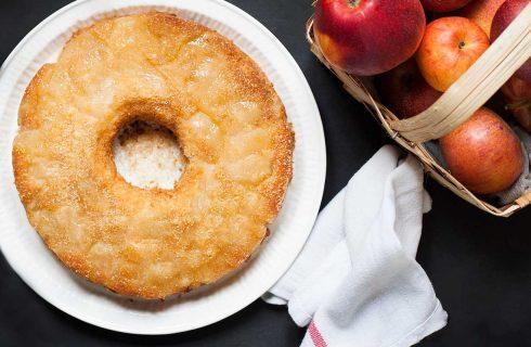 Torta rovesciata alle mele: per l'autunno