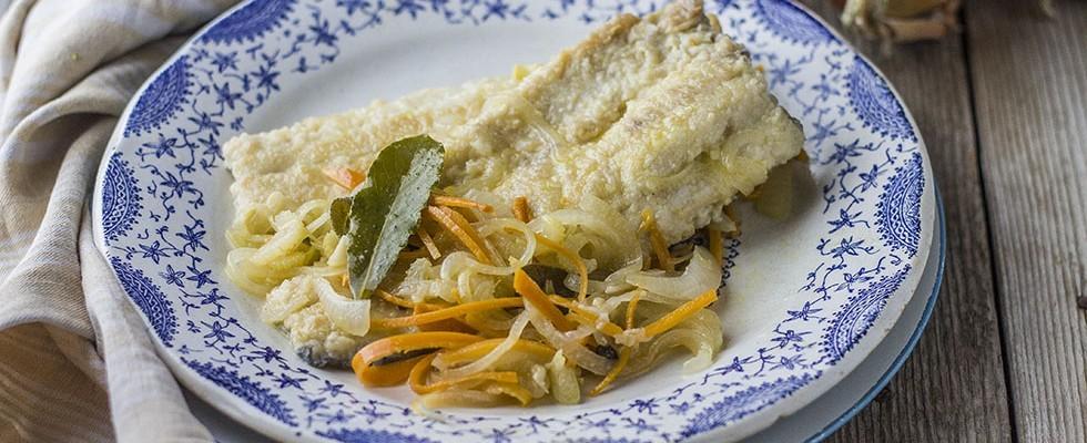 Pesce in carpione: la trota
