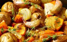 Zucca e patate in padella per il contorno veloce e sfizioso