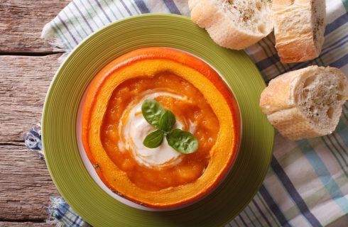 La ricetta della zuppa di zucca e fagioli