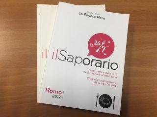 Il Saporario 2017: i migliori locali di Roma, Milano e Torino