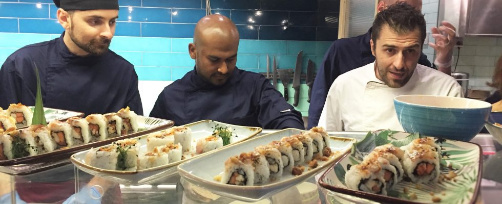Apre Mahalo a Roma: il nuovo sushi-fusion hawaiano