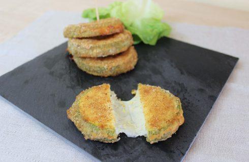 Cotolette di zucchine cotte al forno