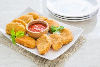 Mozzarella fritta fatta in casa