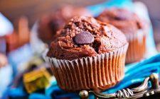 I muffin cioccolato e torrone perfetti per accompagnare il tè