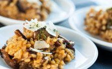 La ricetta originale del risotto con i funghi porcini