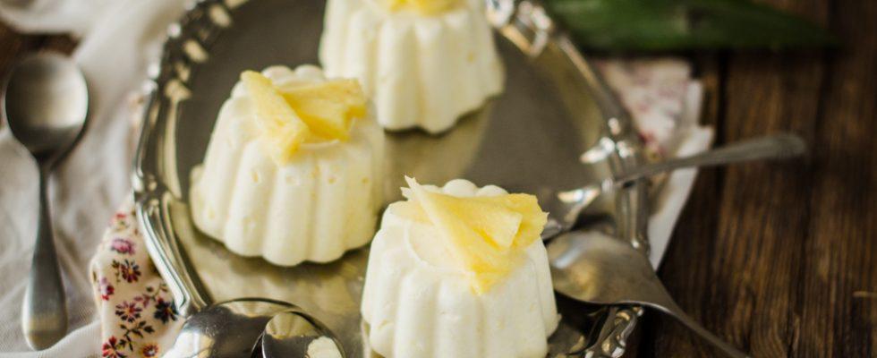 Semifreddo all'ananas, dessert per tutte le stagioni