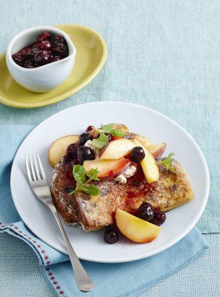 Freanch toast al panettone, goloso dessert